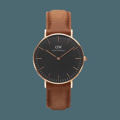 手表品牌排行榜,手表品牌,手表哪个牌子好,情侣表,生日礼物,情人节礼物,品牌手表,腕表之家,石英手表,时尚手表,潮流手表,情侣手表,情侣对表, PO-W Classic Black Durham RG 36mm