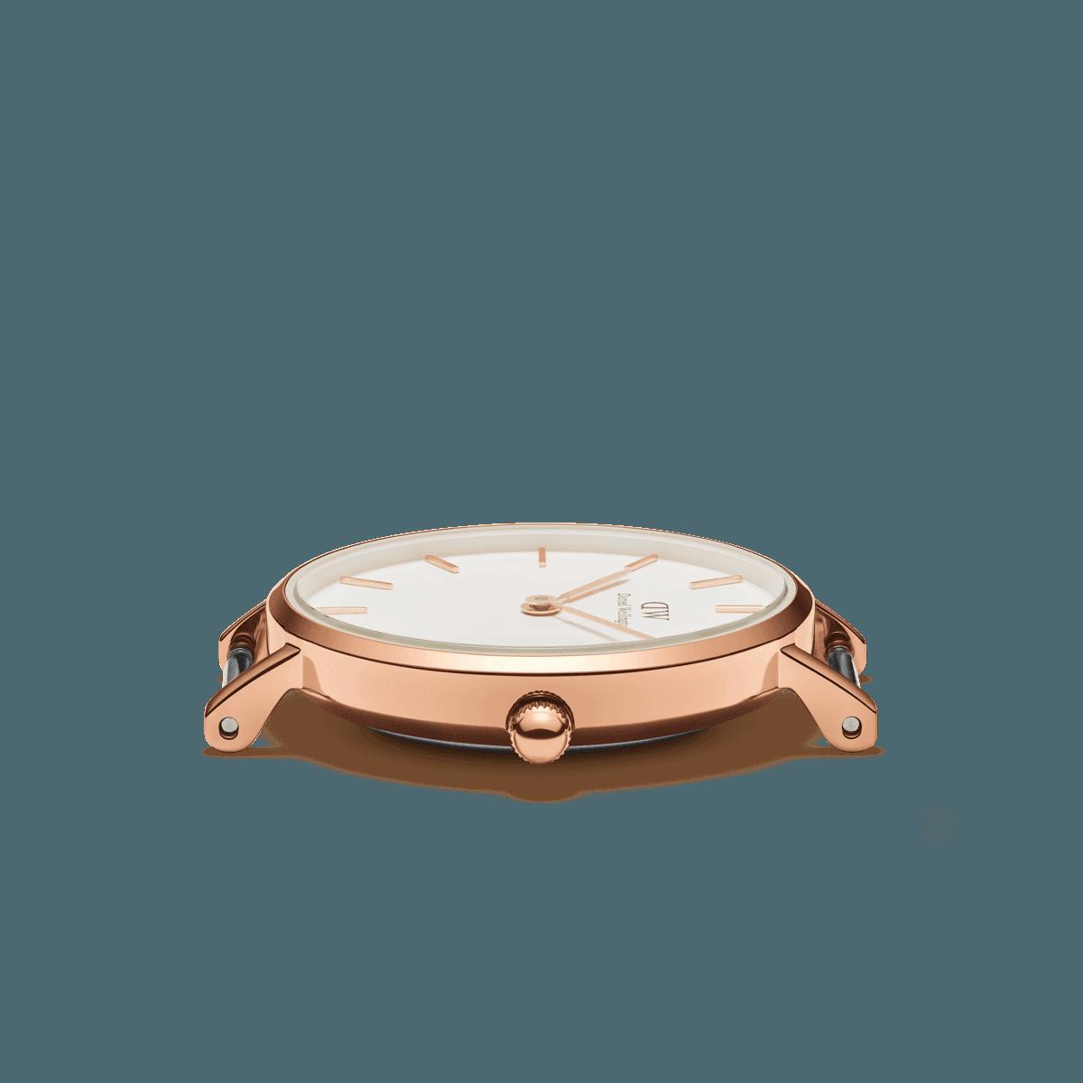 dw官网 dw手表官网 dw中国官网 dw官方旗舰店 DW DW官网  Bundle W+B Petite 28 Canterbury +Classic Bracelet S RG