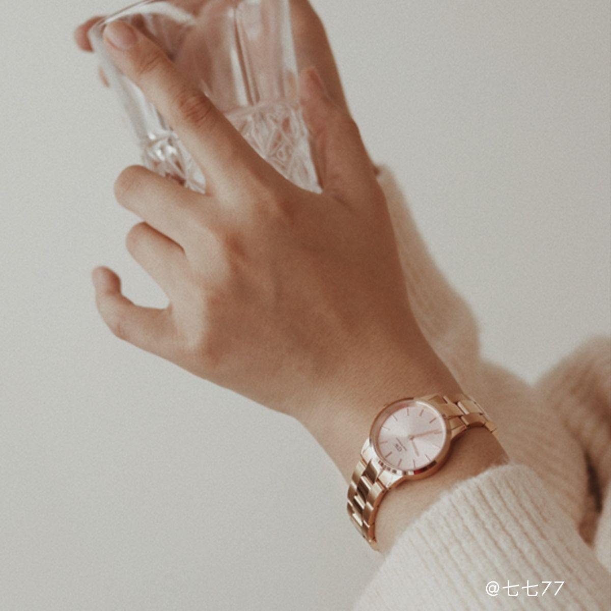 dw官网 dw手表官网 dw中国官网 dw官方旗舰店 DW DW官网  Watch Iconic Link RG Pink 36mm