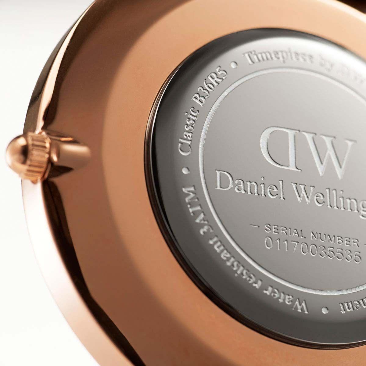 dw官网 dw手表官网 dw中国官网 dw官方旗舰店 DW DW官网  W Classic Black York RG 40mm