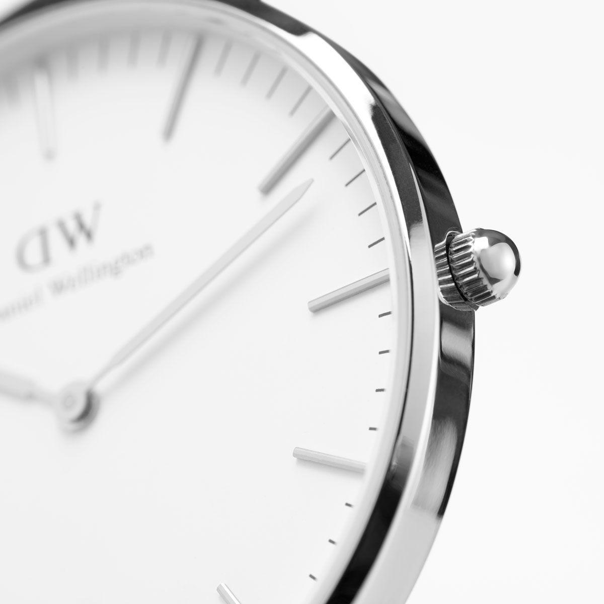 dw官网 dw手表官网 dw中国官网 dw官方旗舰店 DW DW官网  W Classic St Mawes Silver 36mm