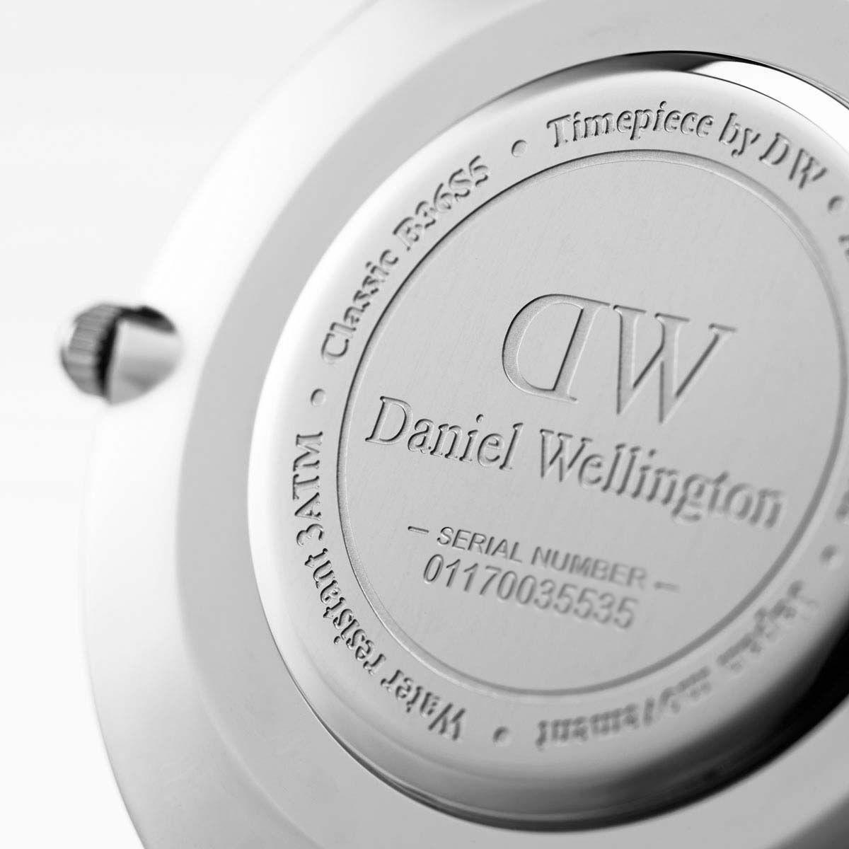 dw官网 dw手表官网 dw中国官网 dw官方旗舰店 DW DW官网  W Classic Black Cornwall Silver 40mm