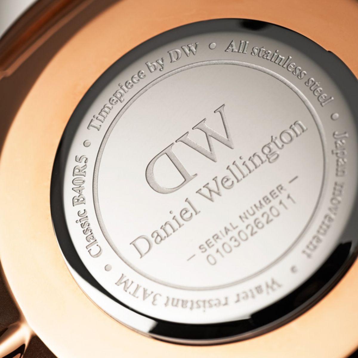 dw官网 dw手表官网 dw中国官网 dw官方旗舰店 DW DW官网  W Classic Durham RG 40mm