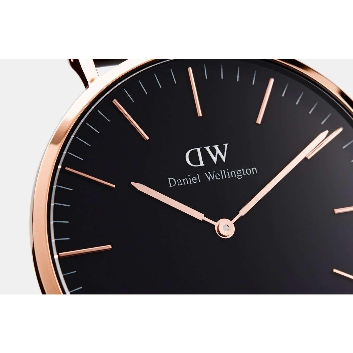 dw官网 dw手表官网 dw中国官网 dw官方旗舰店 DW DW官网  W Classic Black Cornwall RG 36mm