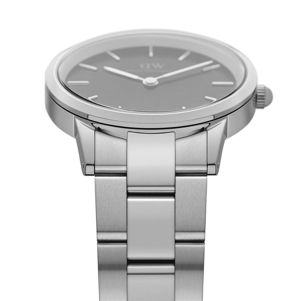 dw官网 dw手表官网 dw中国官网 dw官方旗舰店 DW DW官网  Watch Iconic Black Link Silver 40mm