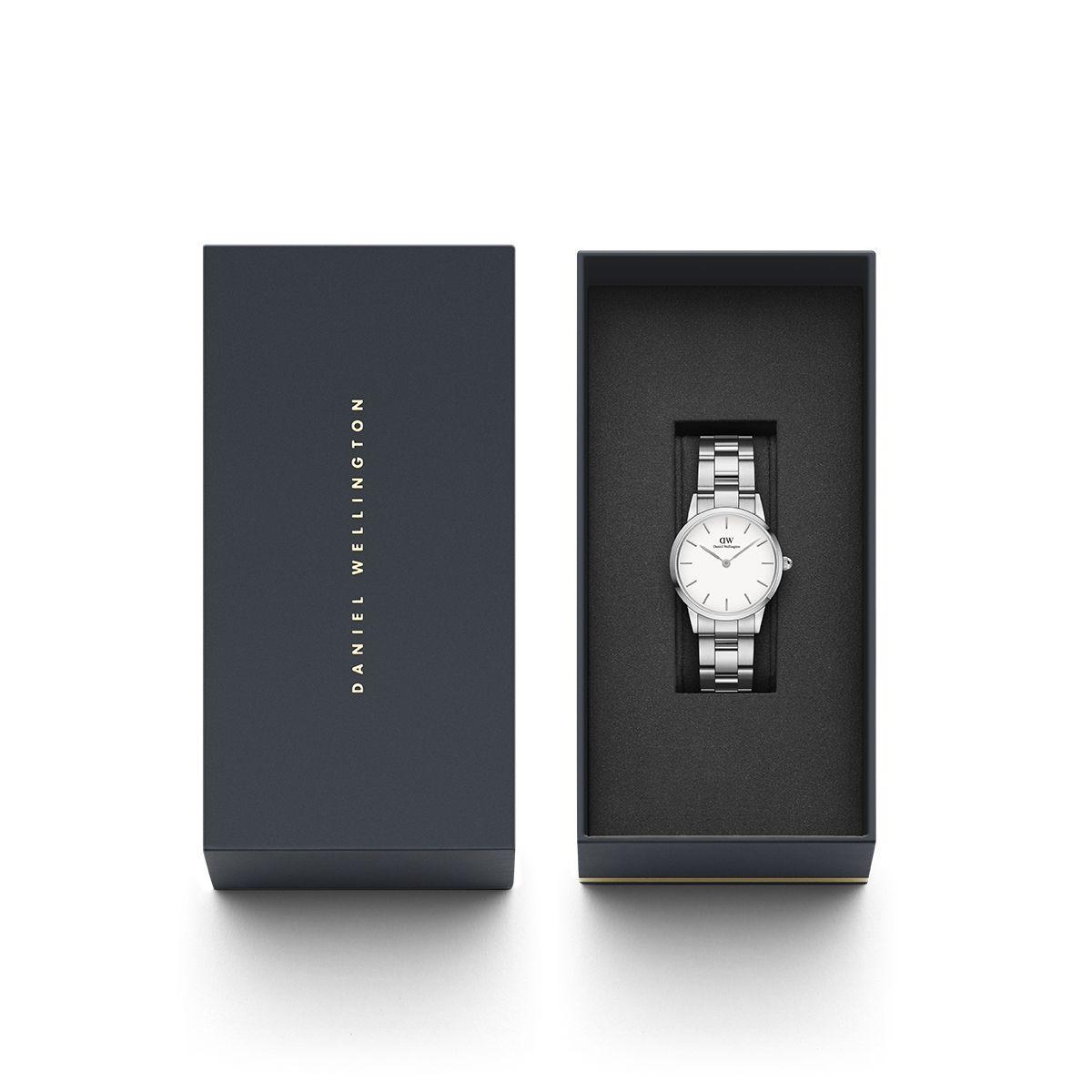 dw官网 dw手表官网 dw中国官网 dw官方旗舰店 DW DW官网  Watch Iconic Link Silver 28mm