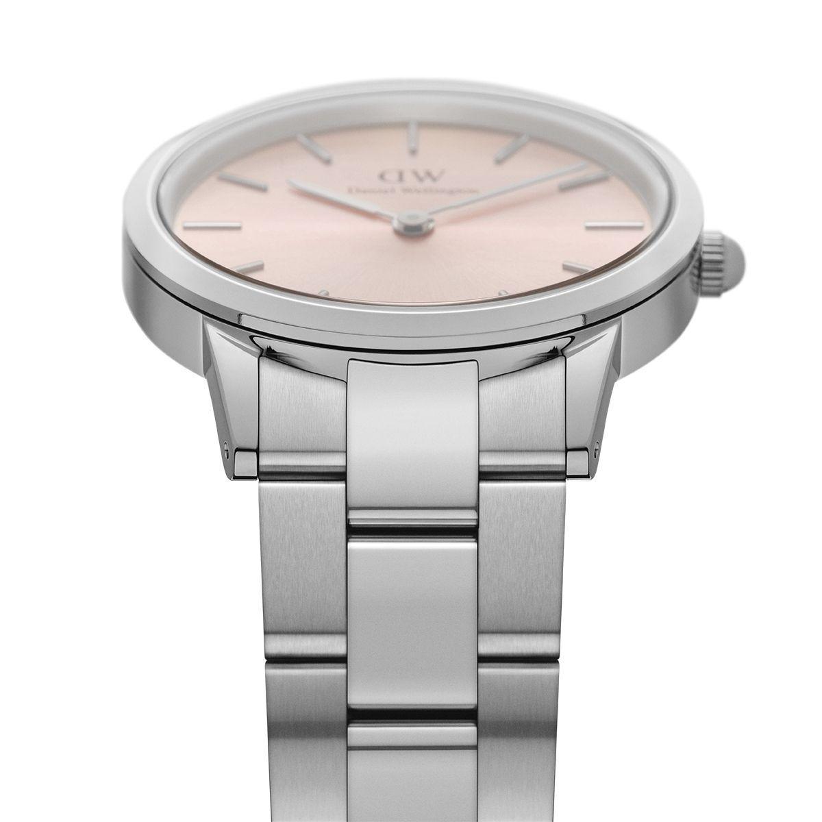 dw官网 dw手表官网 dw中国官网 dw官方旗舰店 DW DW官网  Watch Iconic Link Silver Pink 32mm
