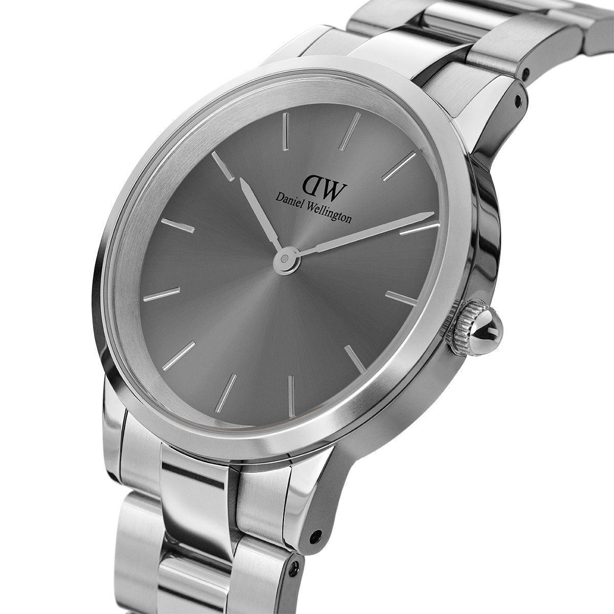 dw官网 dw手表官网 dw中国官网 dw官方旗舰店 DW DW官网  Watch Iconic Link Silver Grey 32mm