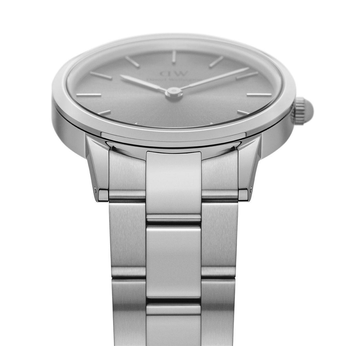 dw官网 dw手表官网 dw中国官网 dw官方旗舰店 DW DW官网  Watch Iconic Link Silver Grey 36mm