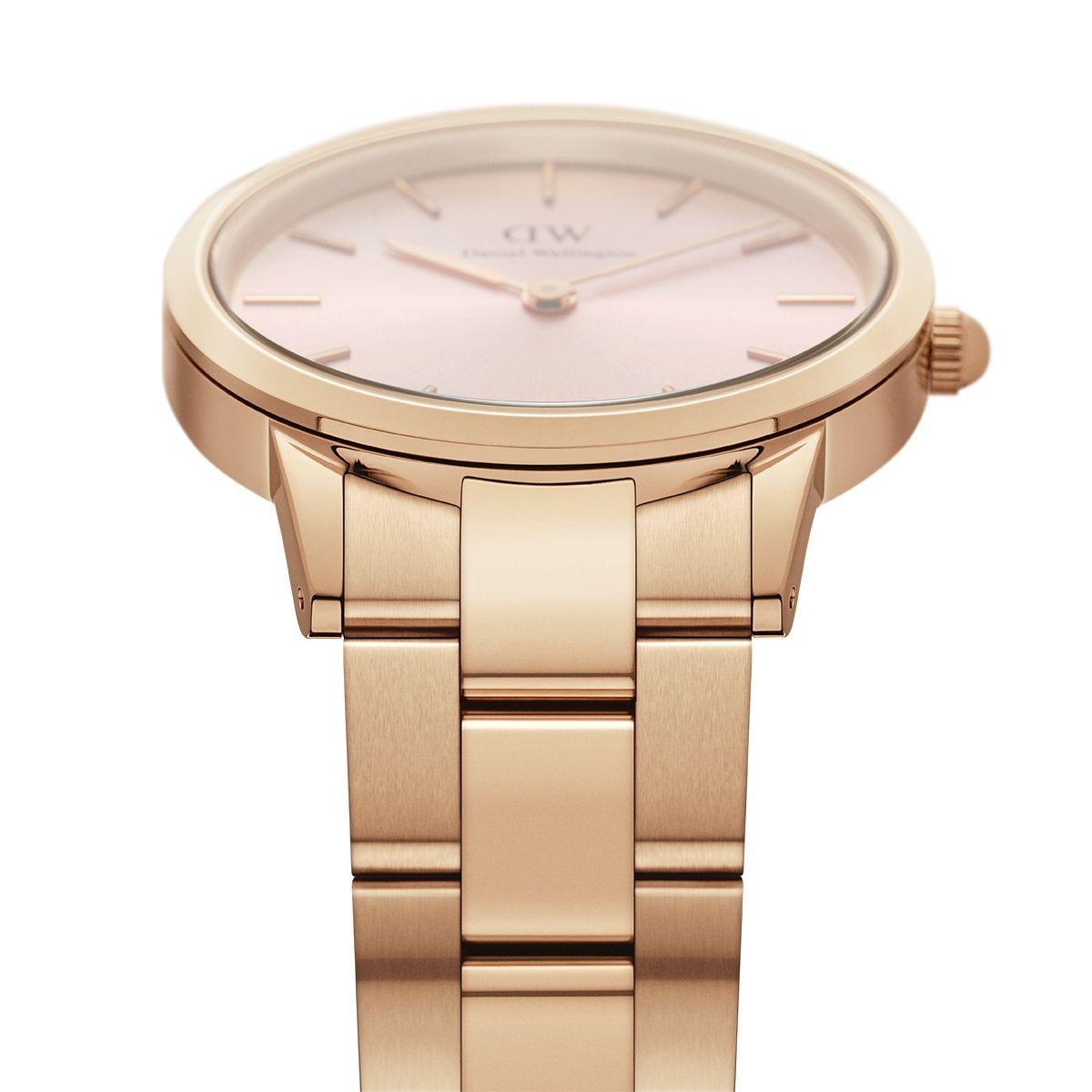 dw官网 dw手表官网 dw中国官网 dw官方旗舰店 DW DW官网  Watch Iconic Link RG Pink 28mm