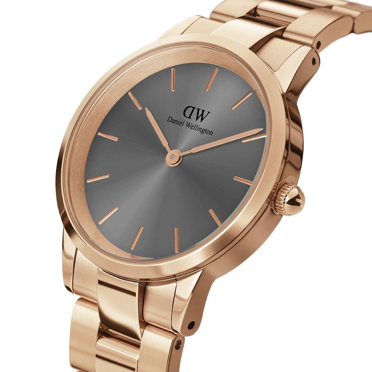 dw官网 dw手表官网 dw中国官网 dw官方旗舰店 DW DW官网  Watch Iconic Link RG Grey 28mm