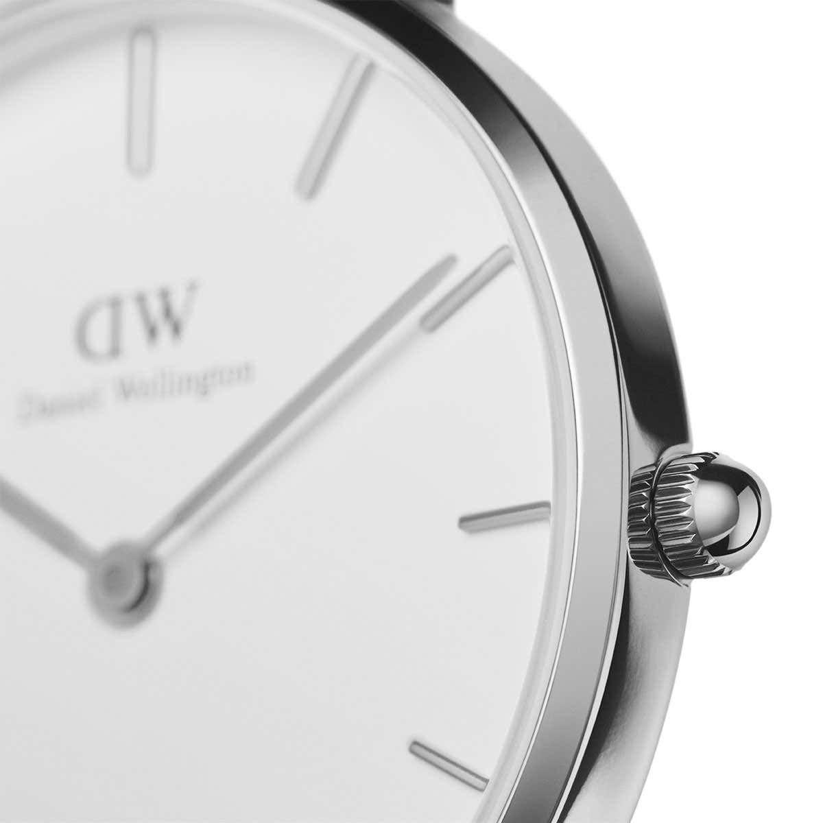 dw官网 dw手表官网 dw中国官网 dw官方旗舰店 DW DW官网  Bundle W+B Petite 32 Rosewater S+Classic Bracelet Silver S