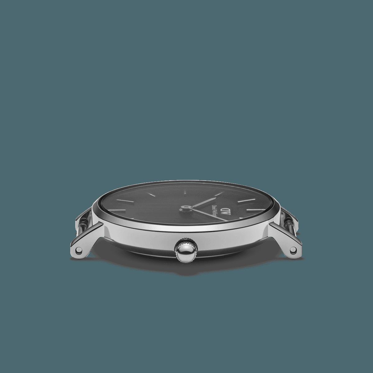 dw官网 dw手表官网 dw中国官网 dw官方旗舰店 DW DW官网  W Petite Black Cornwall Silver 28mm