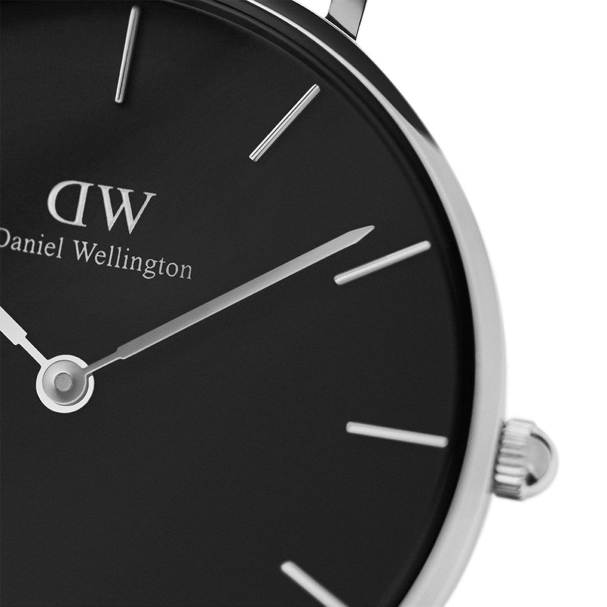 dw官网 dw手表官网 dw中国官网 dw官方旗舰店 DW DW官网  W Petite Black Sterling Silver 32mm
